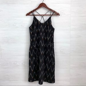 LOFT Strappy Tie Waist Sleeveless Casual Dress